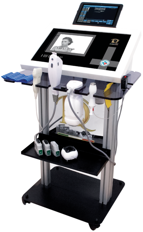 Device for Focused Ultrasounds and Electroporation - HIFU TOP Viso e